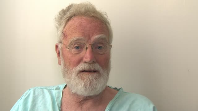 Pensioner saved by search drone after disappearing in marshland ENGLAND Norfolk Titchwell INT Peter Pugh interview SOT