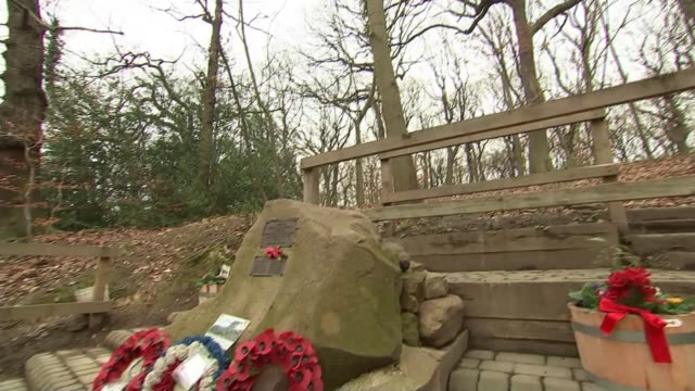 Pensioner who witnessed US WW2 plane crash campaigns for commemorative flypast UK Sheffield Endcliffe Park Memorial / Tony Foulds interview Sheffield...
