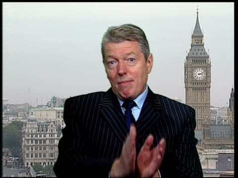new labour and trade unions agree over retirement age england london int alan johnson mp as live ex westminster interview sot always envisaged that... - new age stock videos & royalty-free footage