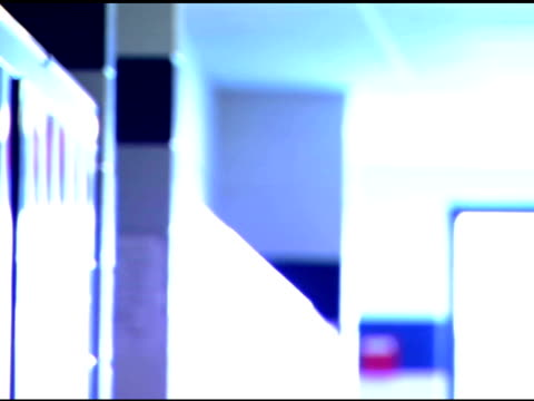 pensive girl in school hallway - only teenage girls stock videos & royalty-free footage
