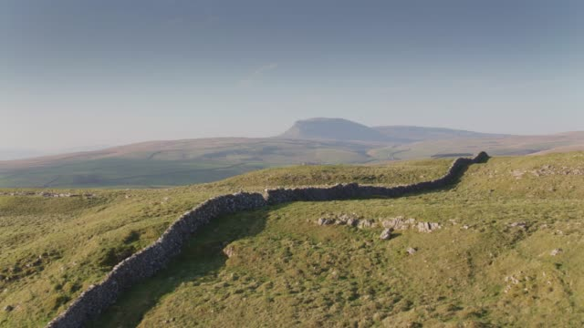 Pen-y-ghent from the South - Drone Shot
