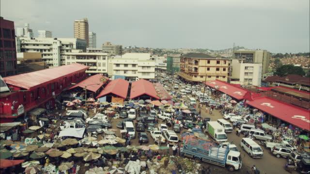 people and places of kampala, uganda - kampala stock videos & royalty-free footage