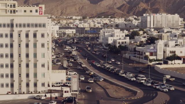 vídeos y material grabado en eventos de stock de people and places of muscat and salalah, oman - omán