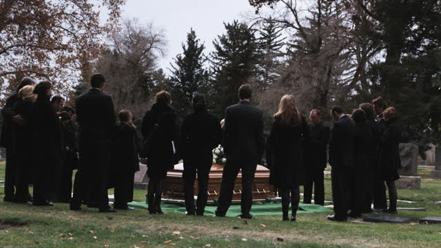 people at a funeral - funeral stock videos & royalty-free footage