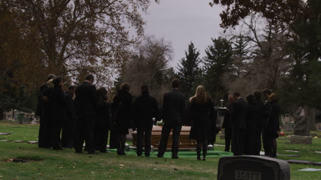 people at a funeral - cemetery stock videos & royalty-free footage
