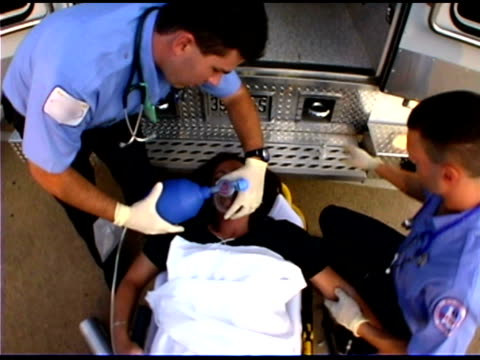 people at ambulance - hospital trolley stock videos & royalty-free footage