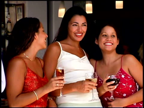 people at bar - only mid adult women stock videos & royalty-free footage