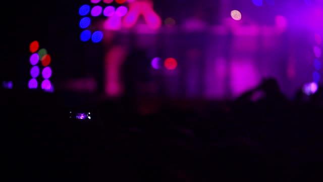 People At Illuminated Music Concert