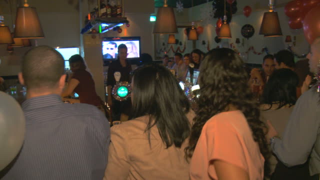 ms pan people at night club / tel aviv,  dan metropolitan,  isarel - tel aviv stock videos & royalty-free footage