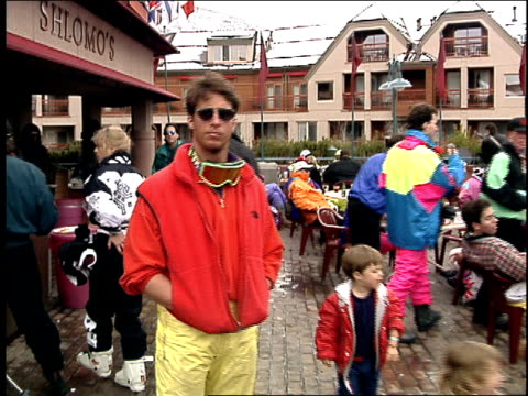 People at Ski Resort in 1992 Aspen