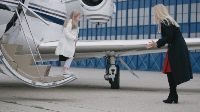 people at the airport - private jet stock videos & royalty-free footage