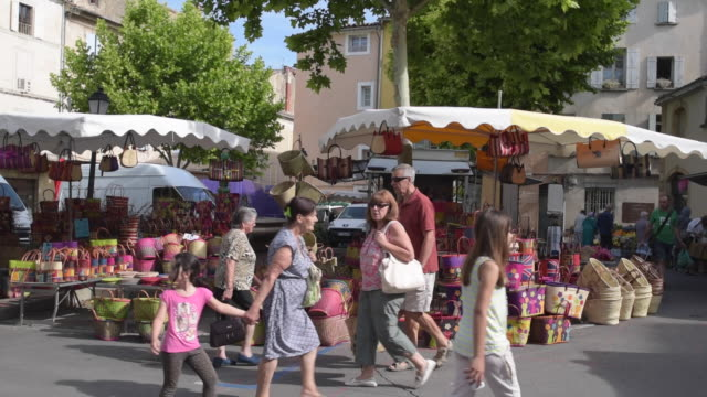 people at weekly street market - apt stock videos and b-roll footage