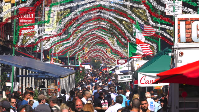 NY: 95th Annual Feast Of San Gennaro In New York City