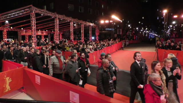 people attends the 'out stealing horses' premiere at the 69th berlinale international film festival berlin on february 9 in berlin, germany. the... - film award type stock videos & royalty-free footage