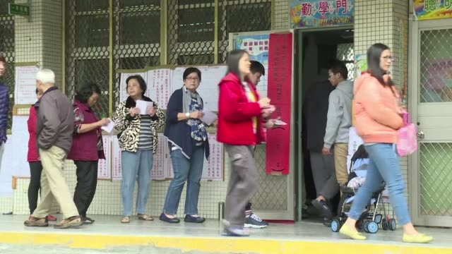 people cast their ballots in taiwan the latest step in the islands fraught evolution into an outspoken democracy and a thorn in chinas side - thorn stock videos & royalty-free footage