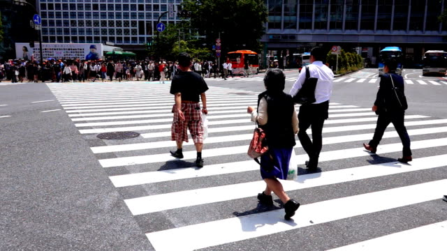 Menschen Kreuzung Shibuya, Slow-motion