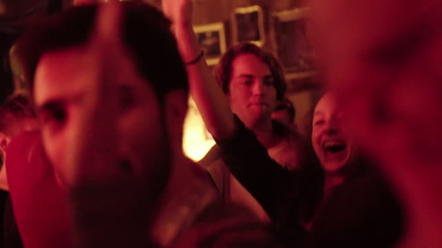 people dancing at a bar - nightlife stock videos & royalty-free footage