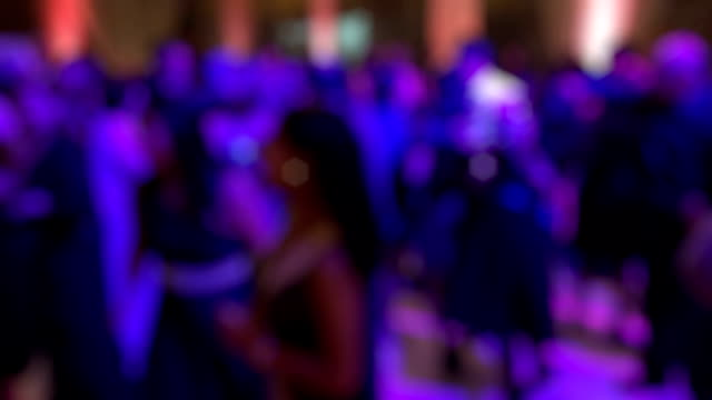 people dancing at a wedding - party social event stock videos and b-roll footage