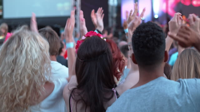 DS People dancing at daytime concert