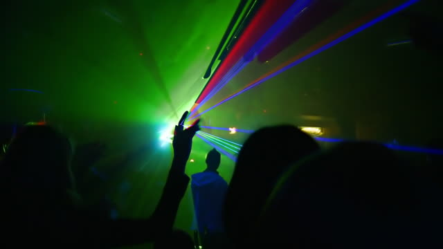 HD: People Dancing In Club