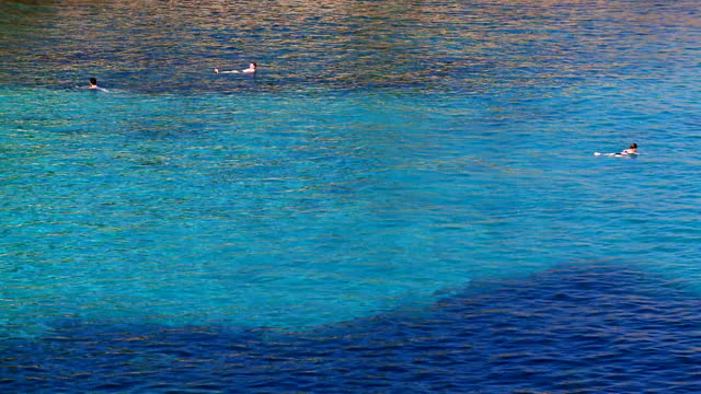 MS People enjoying at surface of sea / Alcudia, Mallorca, Spain