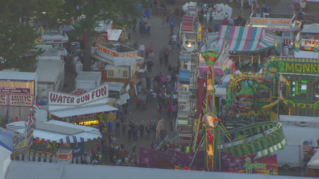 Fryeburg Fair 2020 Schedule.Ws Pov People Enjoying Fairground Rides At Fryeburg Fair