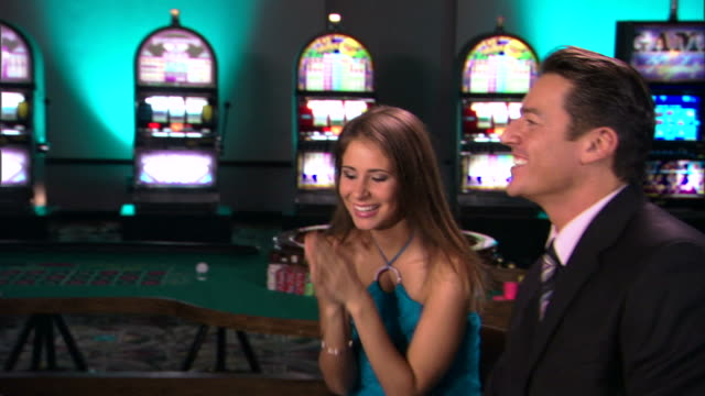 people gambling in casino - casino cards stock videos & royalty-free footage