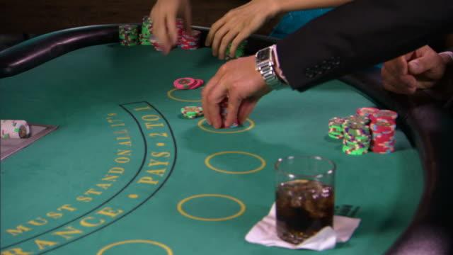 people gambling - casino people stock videos & royalty-free footage