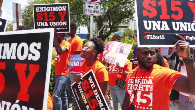 FL: McDonald's Workers Strike For Higher Wages In Fort Lauderdale