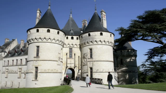 People go to Chateau de Chaumont