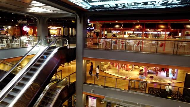 人の百貨店 - ショッピングセンター点の映像素材/bロール