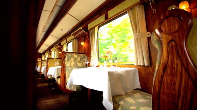 people in dining carriage on machu picchu train - machu picchu stock videos & royalty-free footage