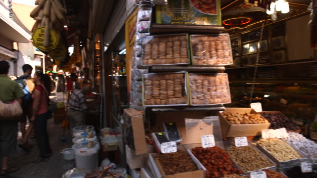 people in front of spice market turkey - wiese stock videos & royalty-free footage