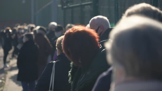 people in liverpool queueing up at coronavirus test centre, where mass testing and rapid tests is being trialled - medical equipment stock videos & royalty-free footage