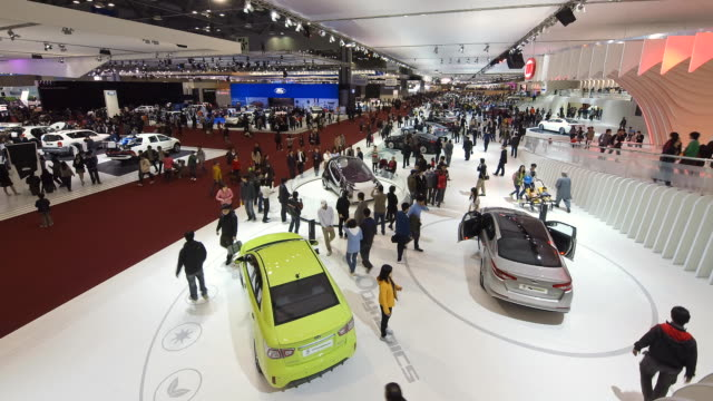 WS People in motor exhibition / Goyang, Kyunggi, South Korea
