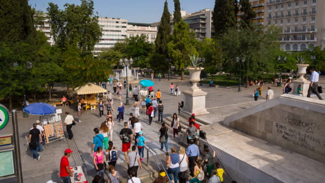WS people in Syntagma Square