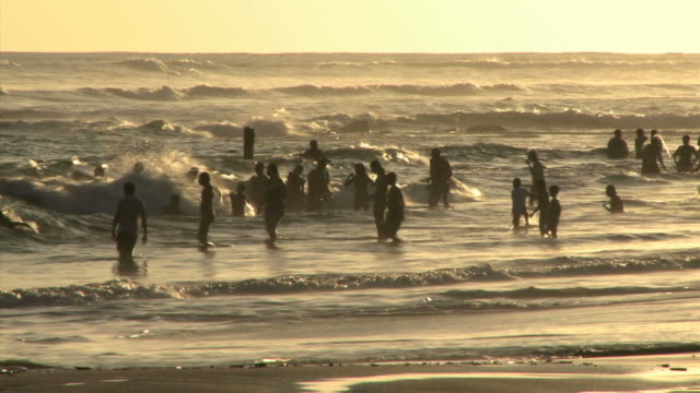people in the surf - see other clips from this shoot 1157 stock videos & royalty-free footage