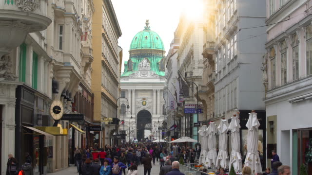 people in vienna city - vienna stock videos & royalty-free footage