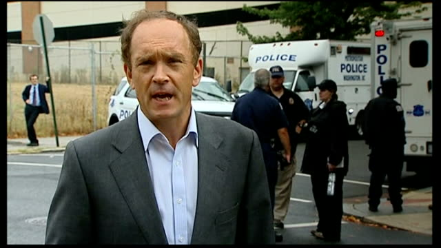 12 people killed in shooting at Washington Navy Yard Reporter to camera