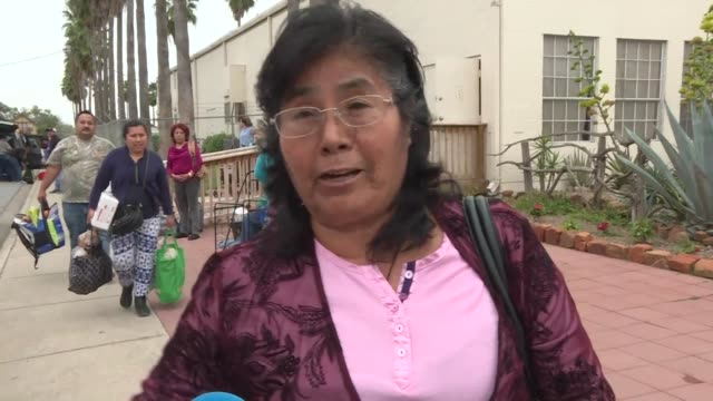 people living along the us mexico border in mcallen texas react to donald trump's controversial border wall as the us president visits the area... - mcallen texas stock videos & royalty-free footage