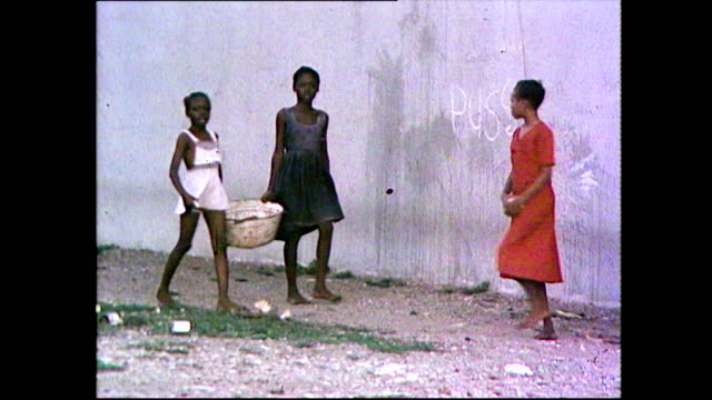 people living in poor areas of trench town, jamaica; 1981 - 1981 stock videos & royalty-free footage