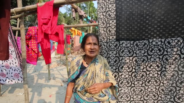 people losing their homes causes of padma river erosion in munshigonj near dhaka, bangladesh on january 24, 2016. erosion is endemic in bangladesh... - indischer subkontinent abstammung stock-videos und b-roll-filmmaterial