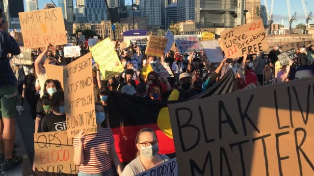 AUS: Australians Rally In Solidarity With Black Lives Matter Movement