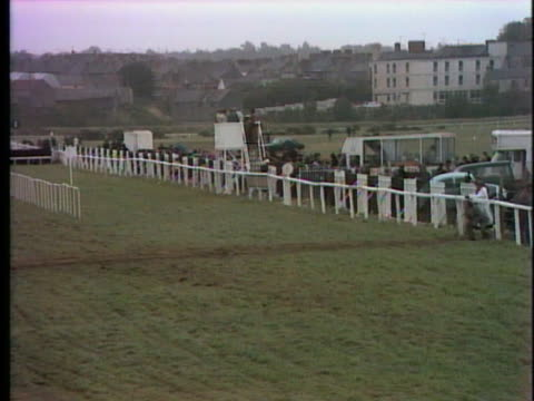 people mill around before a horse race at the listowel races in ireland. - healthcare and medicine or illness or food and drink or fitness or exercise or wellbeing stock videos & royalty-free footage