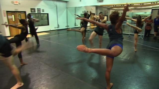 people modern dancing in a studio on august 07 2013 in los angeles california - modern dancing stock videos & royalty-free footage