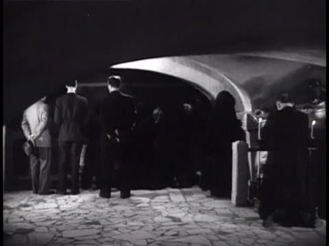 people & nuns gathering at tomb, crypt of pope pius xi, praying. - nun stock videos & royalty-free footage