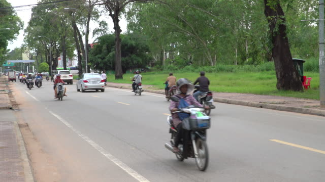 people on bikes - moped stock videos and b-roll footage