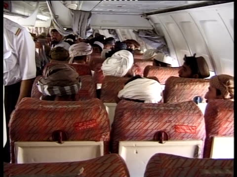 People on board an Ariana Airlines flight