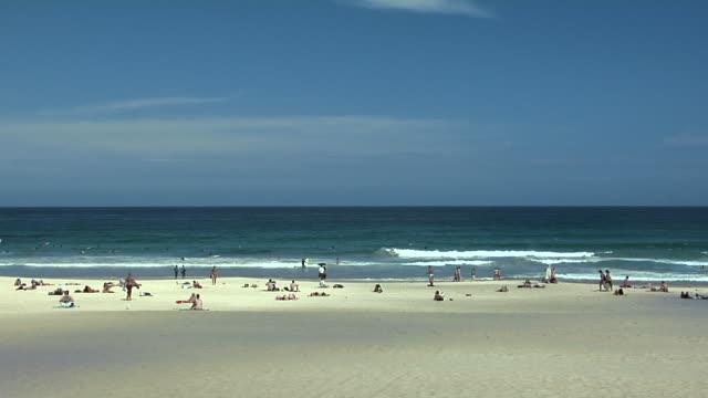WS, People on Bondi Beach, Sydney, Australia