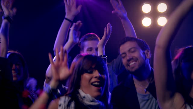people on concert - entertainment club stock videos & royalty-free footage